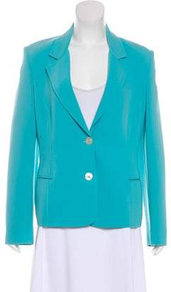 Michael Kors Virgin Wool Notch-Lapel Blazer