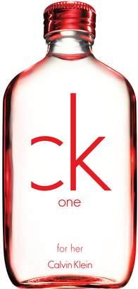 Calvin Klein One Red Edition Eau de Toilette Spray for Women