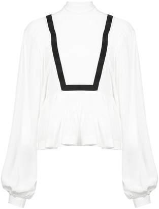 Rochas tie-neck blouse