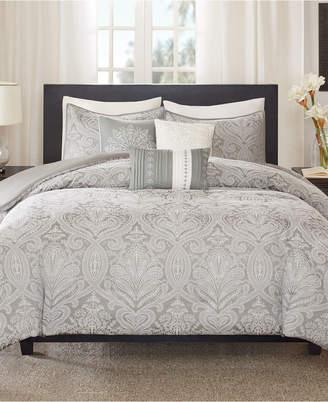 Madison Park Averly 6-Pc. Full/Queen Duvet Cover Set Bedding