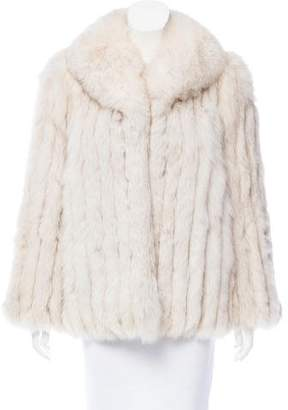 Saga Fox Arctic Snow Fox Coat
