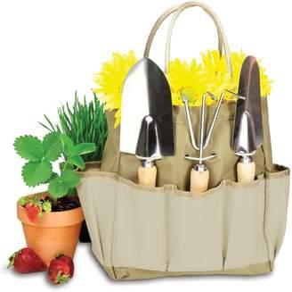 Picnic Time 4-pc. Garden Tote & Tool Set
