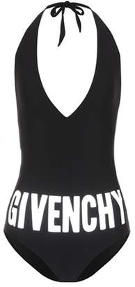 Givenchy Printed halter swimsuit