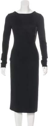 Antonio Berardi Draped Midi Dress w/ Tags