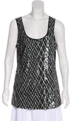 Calvin Klein Sleeveless Embellished Top