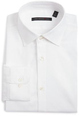 Star USA By John Varvatos Oxford Regular Fit Dress Shirt (Big & Tall) $98 thestylecure.com