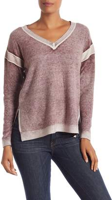 Olsen Sigred Faded Hi-Lo Cashmere Sweater