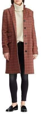 Lauren Ralph Lauren Plaid Trench Coat