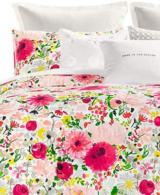 Kate Spade Dahlias Three-Piece 272 Thread Count Cotton Comforter Set
