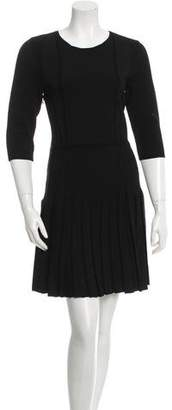 Cushnie et Ochs Knit Pleated Dress w/ Tags
