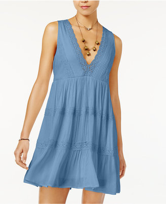 American Rag Lace-Trim Babydoll Dress, Only at Macy's $59.50 thestylecure.com