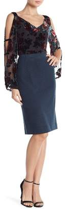 Nanette Lepore Knit Pencil Skirt