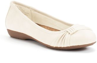Croft & Barrow® Women's Ortholite Bow Ballet Flats $59.99 thestylecure.com