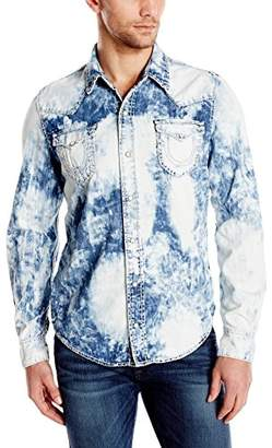 True Religion Men's Ryan Western Denim Shirt