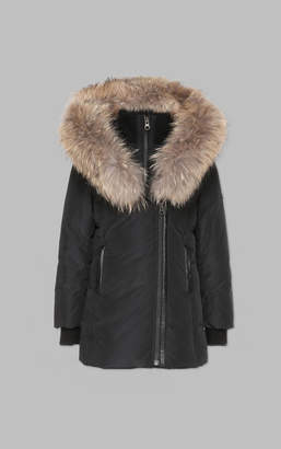 Mackage LEELEE-T WINTER DOWN COAT WITH FUR HOOD (2-6 yrs)