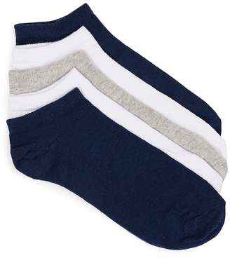 Topman Assorted Colour Trainer Socks 5 Pack
