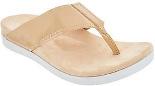 Spenco Orthotic Platform Thong Sandals- Hampton