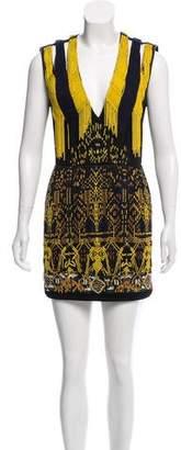 Barbara Bui Sleeveless Mesh Dress