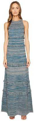 M Missoni Lurex Mouline Maxi Dress Women's Dress