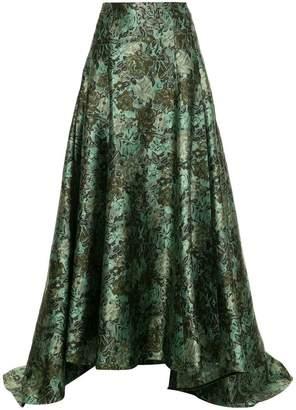 Erdem baroque pattern skirt