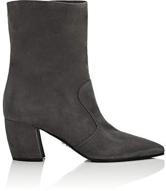 Prada Women's Suede Ankle Boots
