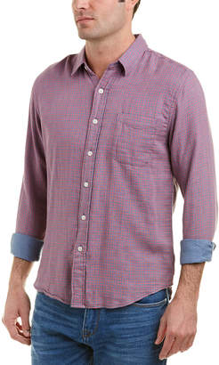 Faherty Doublecloth Ventura Woven Shirt