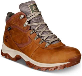 Timberland Men's Mt. Maddsen Full-Grain Waterproof Boots Men's Shoes
