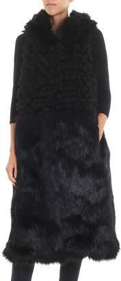 L'Autre Chose Fur Coat