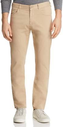Canali Stretch Five Pocket Regular Fit Pants