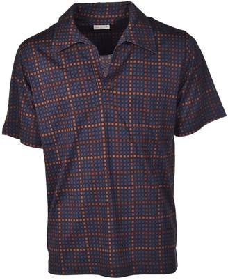 Dries Van Noten Checked Polo Shirt