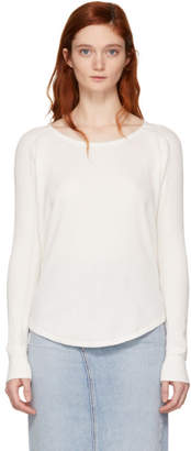 Rag & Bone White Kyra V-Neck