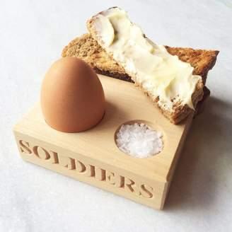 Marquis & Dawe Soldiers Egg Serving Holder