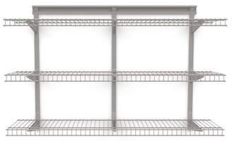 "ClosetMaid ShelfTrack 48"" W Wall Shelf"