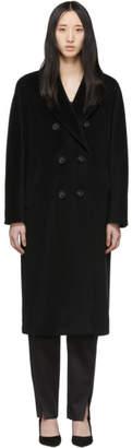 Max Mara Black Madame Coat