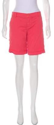 Tory Burch Khaki Twill Shorts