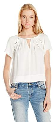 Ella Moss Women's Stella with Caging Blouse