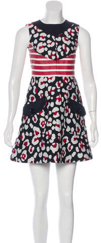 RED ValentinoRed Valentino Jacquard Mini Dress