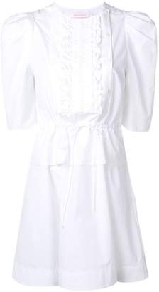 See by Chloe ruffle-trimmed short dress