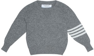 Thom Browne Kids Baby cashmere sweater