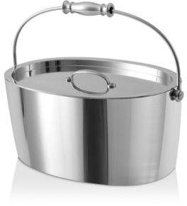 Crafthouse by Fortessa Stainless Steel Ice Bucket with Lid