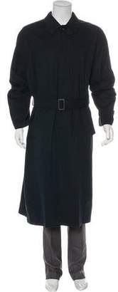 Giorgio Armani Woven Trench Coat