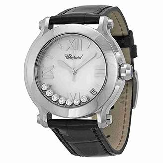 Chopard Women's 278475-3002 Happy Sport Round Mother-Of-Pearl Dial Watch