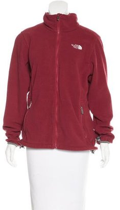 The North Face Zip Up Fleece Jacket $65 thestylecure.com