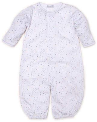 Kissy Kissy Shimmer Stars Pima Convertible Gown, Size Newborn-S