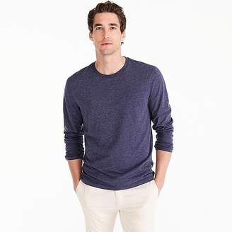 J.Crew Mercantile Broken-in long-sleeve heathered T-shirt