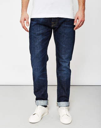 Edwin ED-55, Red Listed Selvedge, Relaxed Tapered, 14oz, Washed Jeans