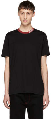 Givenchy Black Contrast Logo T-Shirt