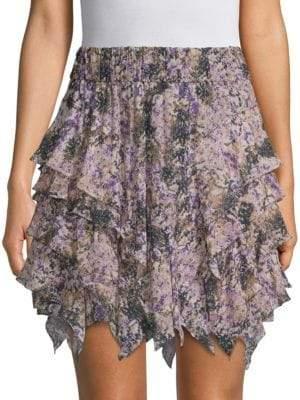 Etoile Isabel Marant Jocky Flowers Flippy Skirt