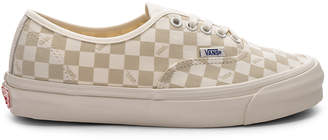 Vans OG Authentic LX in Checkerboard & Marshmallow   FWRD