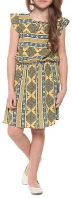 Dex Floral Frill Dress
